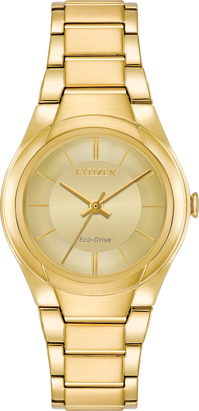 Citizen Eco-Drive - PARADIGM - Gold Tone