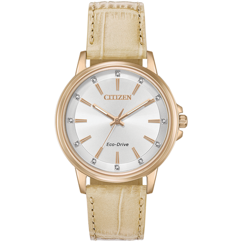 Citizen Eco-Drive - Chandler - Rose Gold Tone