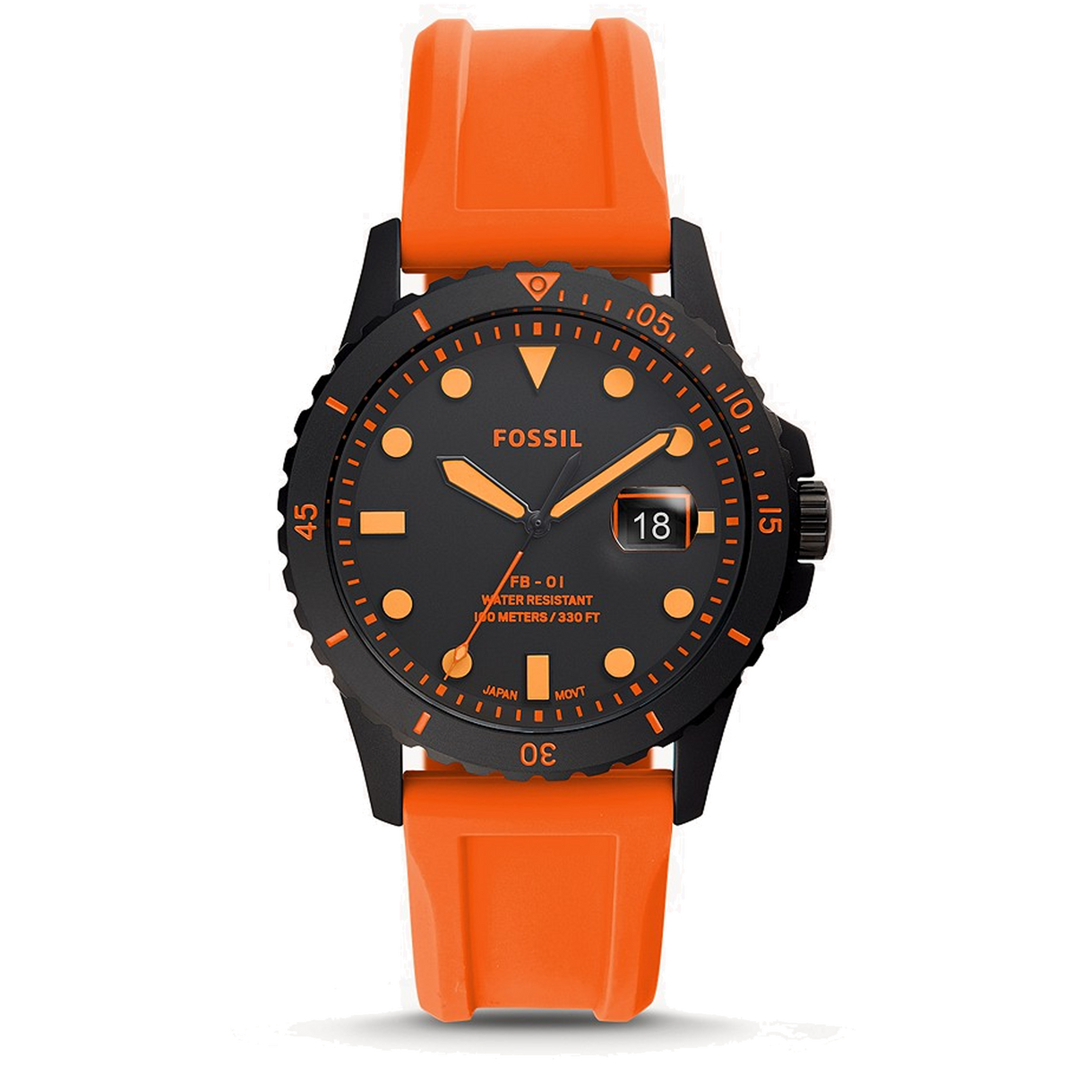 Fossil Watch FB-01: Black Stainless Steel