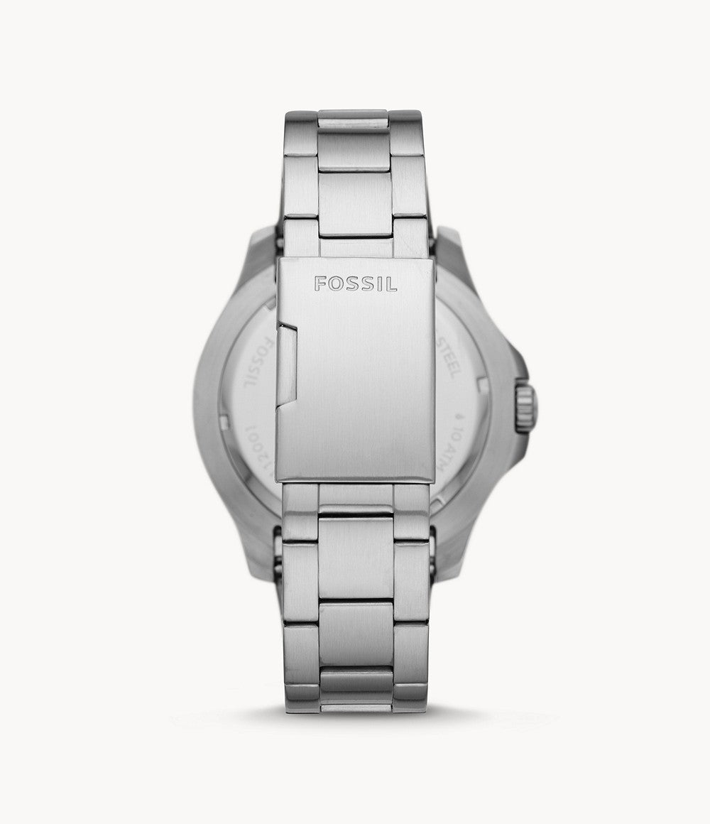 Fossil Watch FB-02: Stainless Steel