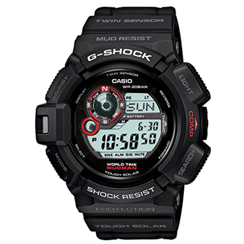 Casio G-Shock - Master of G - Black Mudman