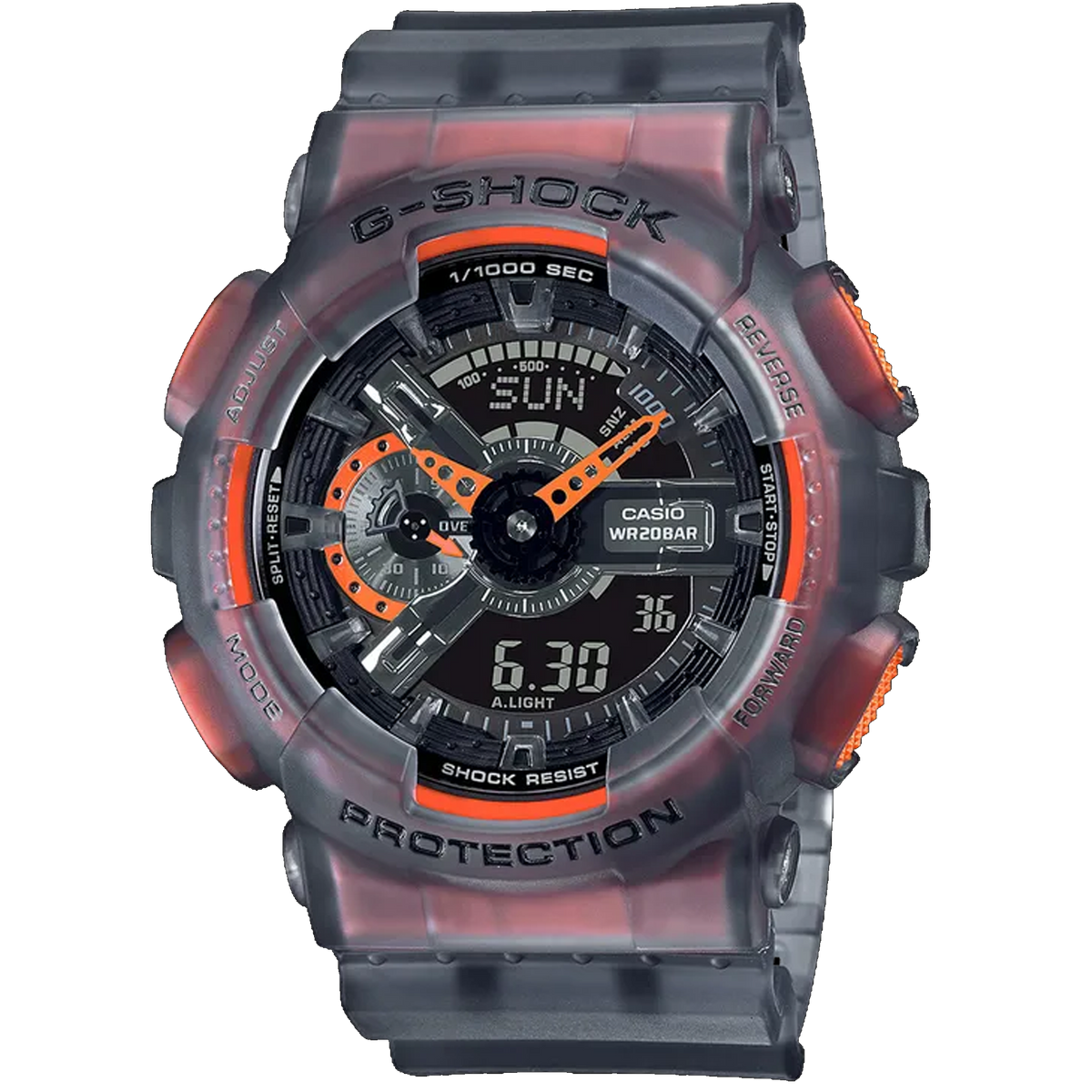 Casio G-Shock -  Ani/Digi - Vibrant Colour Skeleton