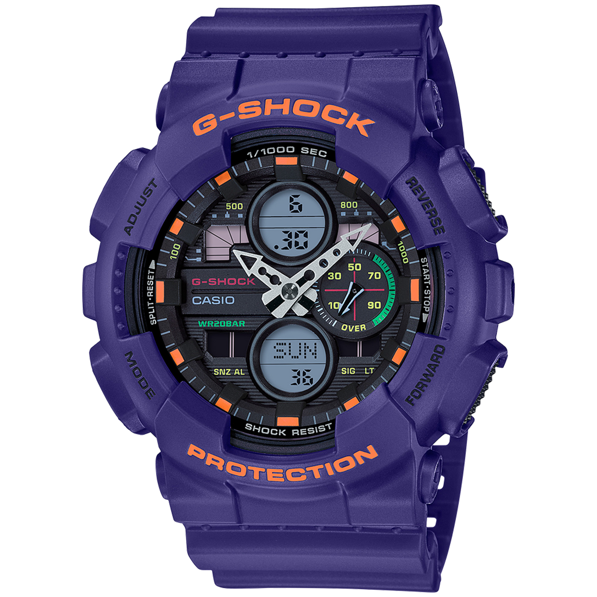Casio G-Shock - New Dial Ani/Digi - Purple
