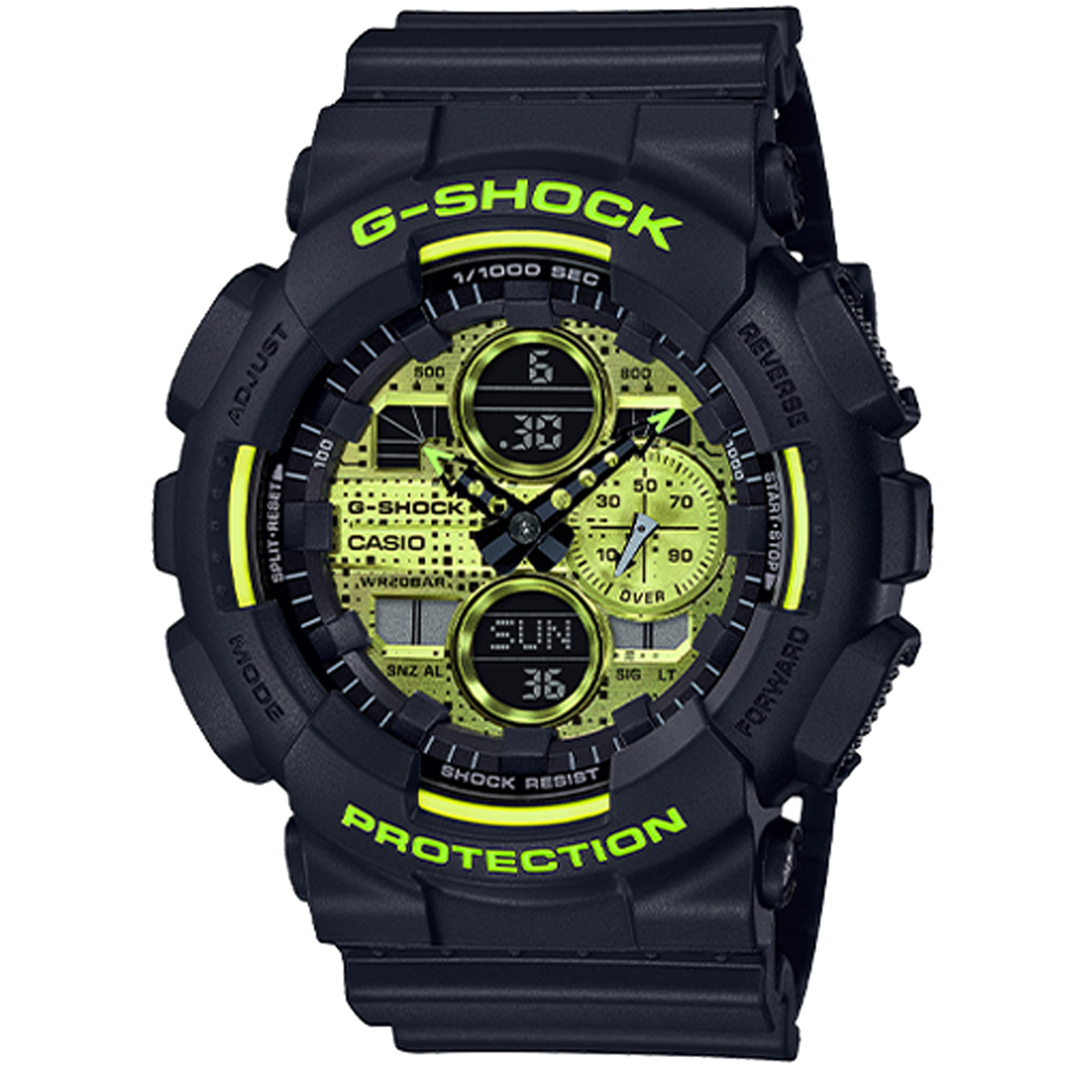 Casio G-Shock - GA140 Adrenalin Red Series