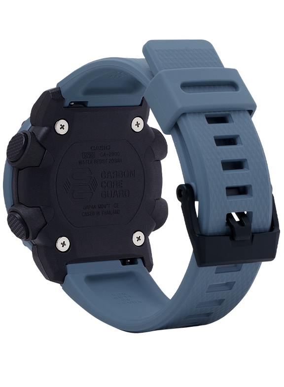 Casio G-Shock -  Ani/Digi - Carbon Core Guard - Blue Utility