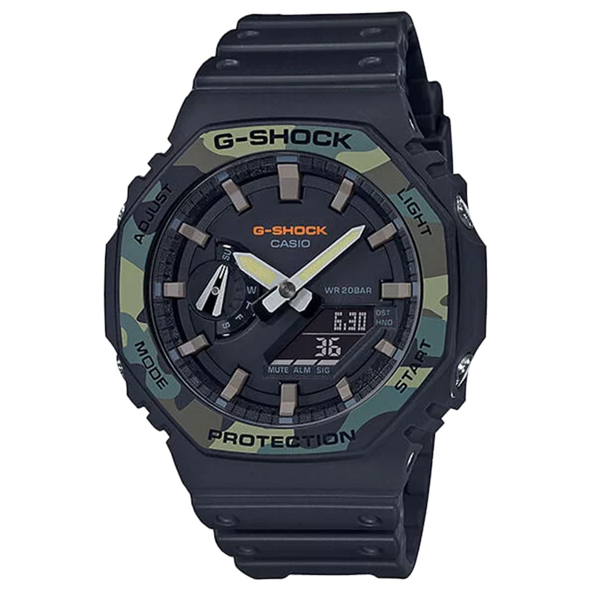 Casio G-Shock Carbon Square GA2100SU-1A