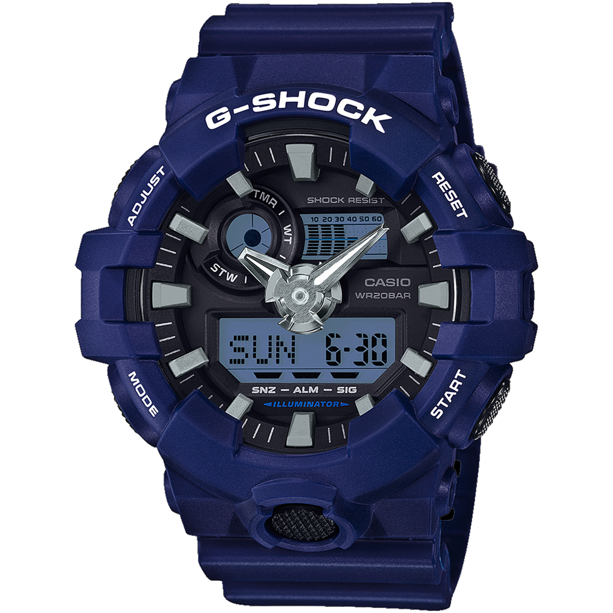 Casio G-Shock -  Ani/Digi - Blue
