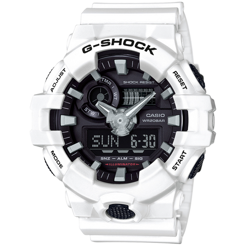 Casio G-Shock - Analog/Digital - White