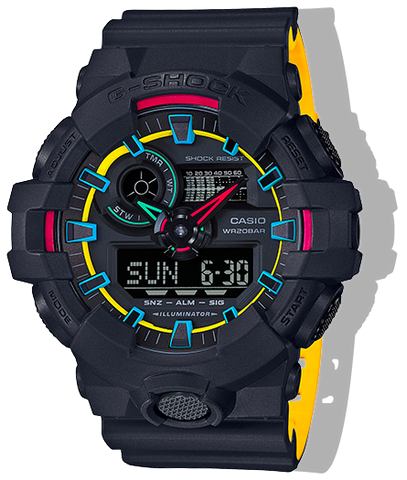 Casio G-Shock - Analog/Digital - Black/Multi