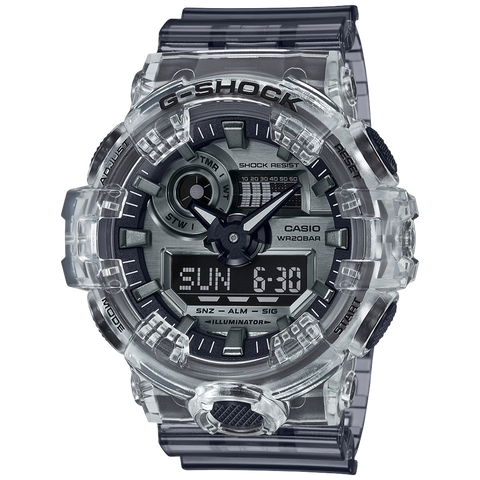 Casio G-Shock -  Ani/Digi - Semi Transparent