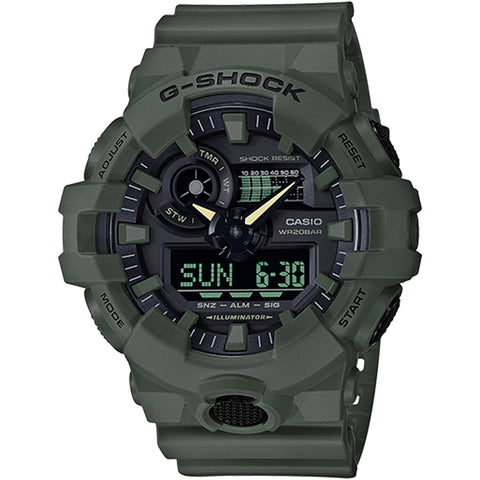 Casio G-Shock -  Ani/Digi - Green