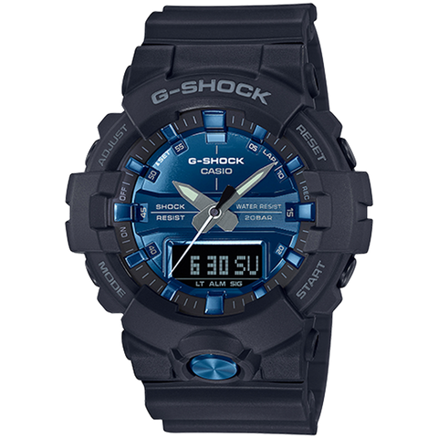 Casio G-Shock - Analog/Digital - Black & Blue