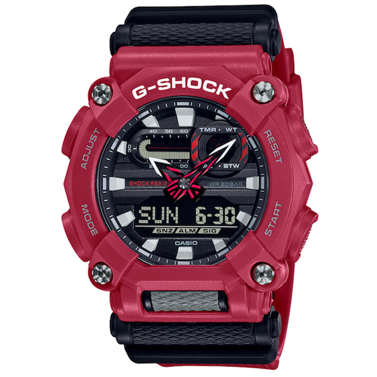 Casio G-Shock -  GA900 Series Red - GA900-4A