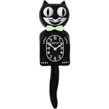 Classic Black Glow Kit-Cat® Klock
