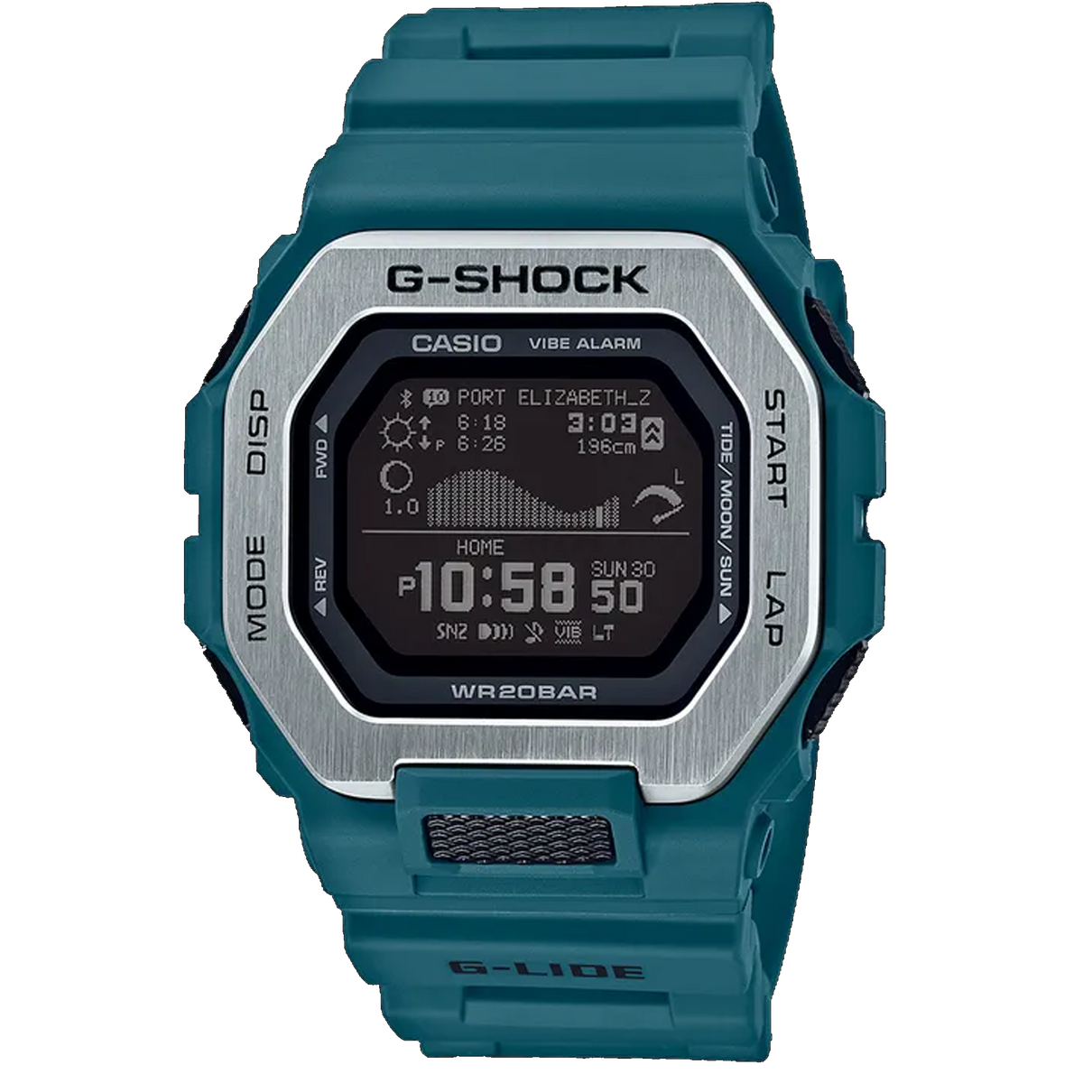 Casio G-Shock - G-Lide Connected Blue