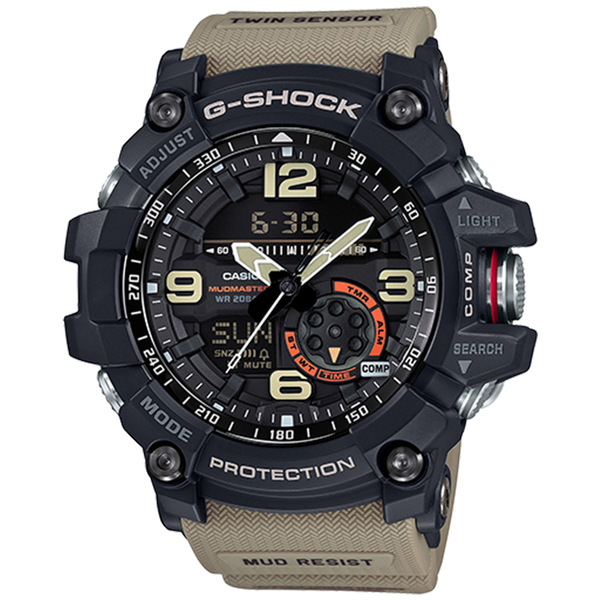 Casio G-Shock Master of G - MudMaster - Black/Sand