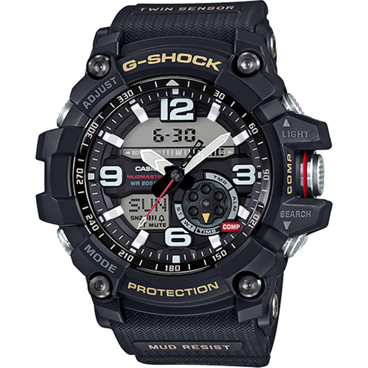 Casio G-Shock Master of G - MudMaster - Black