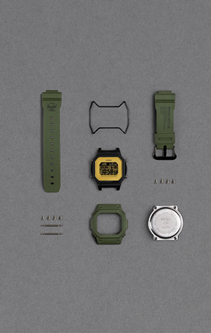 Casio G-Shock -  Digital - Herschel Limited Edition