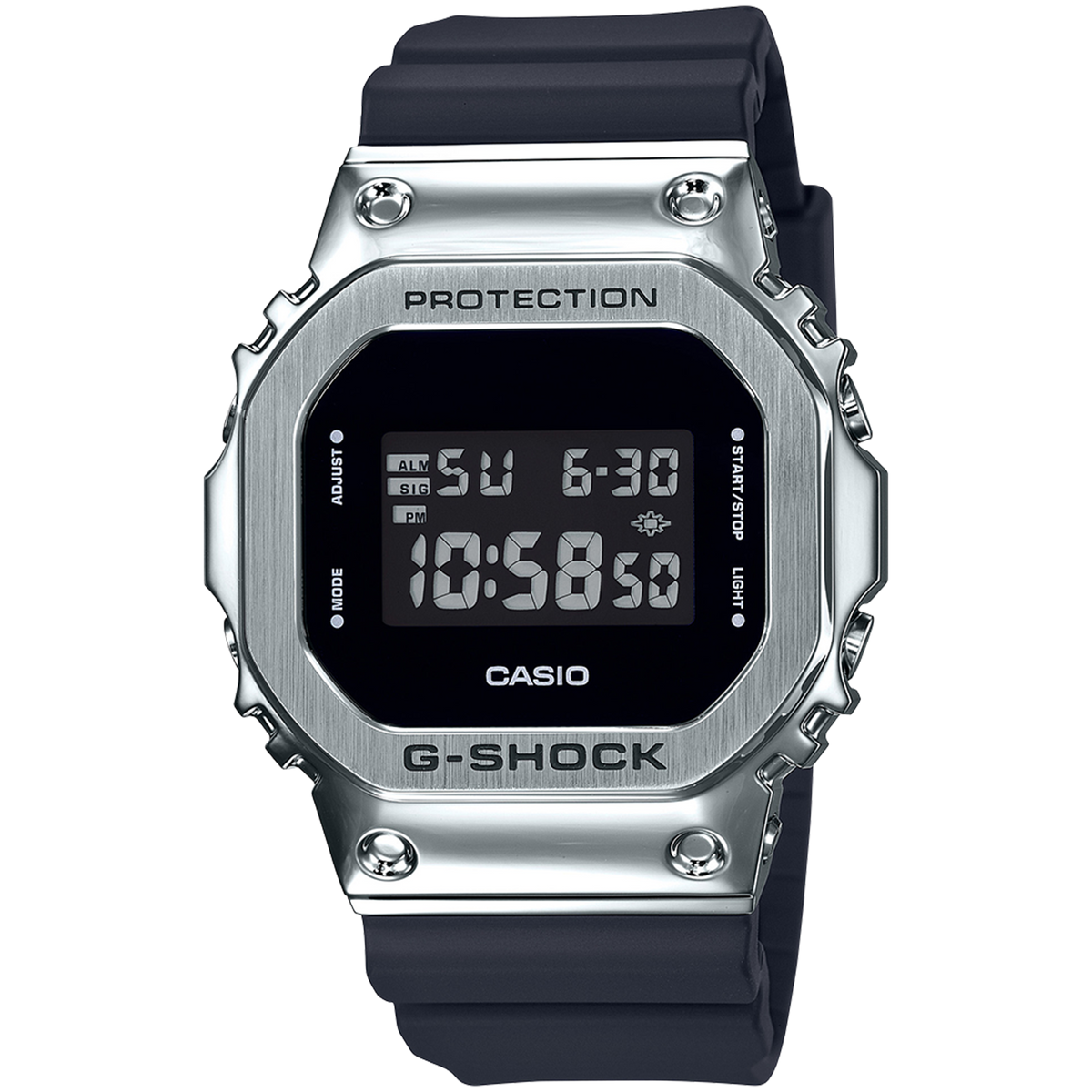 Casio G-Shock Metal Bezel GM5600-1