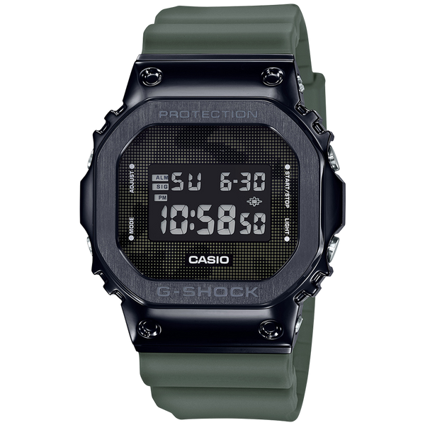 Casio G-Shock Metal Bezel GM5600B-3