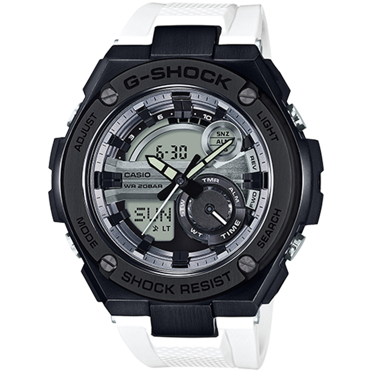 Casio G-Shock - Steel Collection - Black/White