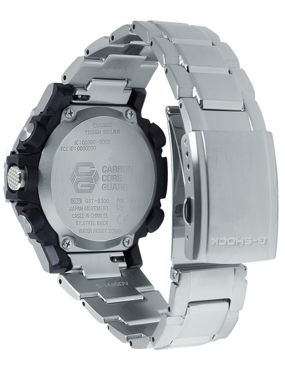 Casio G-Shock - GSTB300 Series - Carbon Core Solar