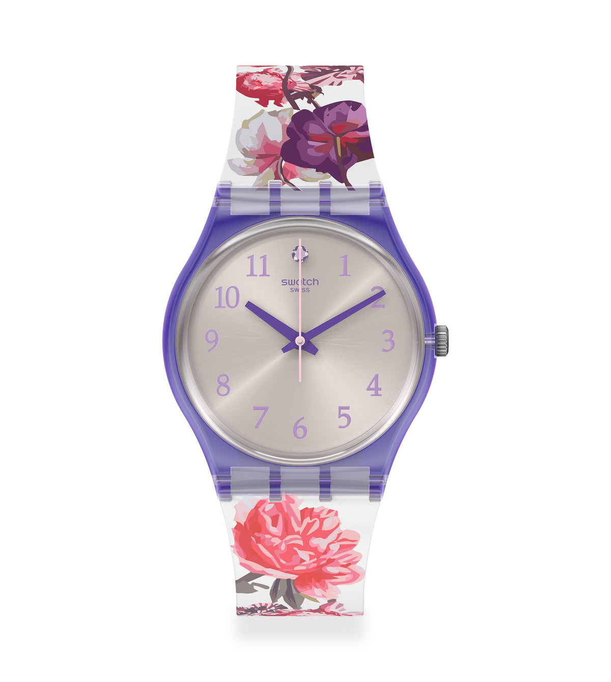 Swatch Watch 34mm - Sweet Garden