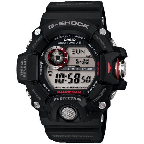 Casio G-Shock - Master of G - Black Rangeman