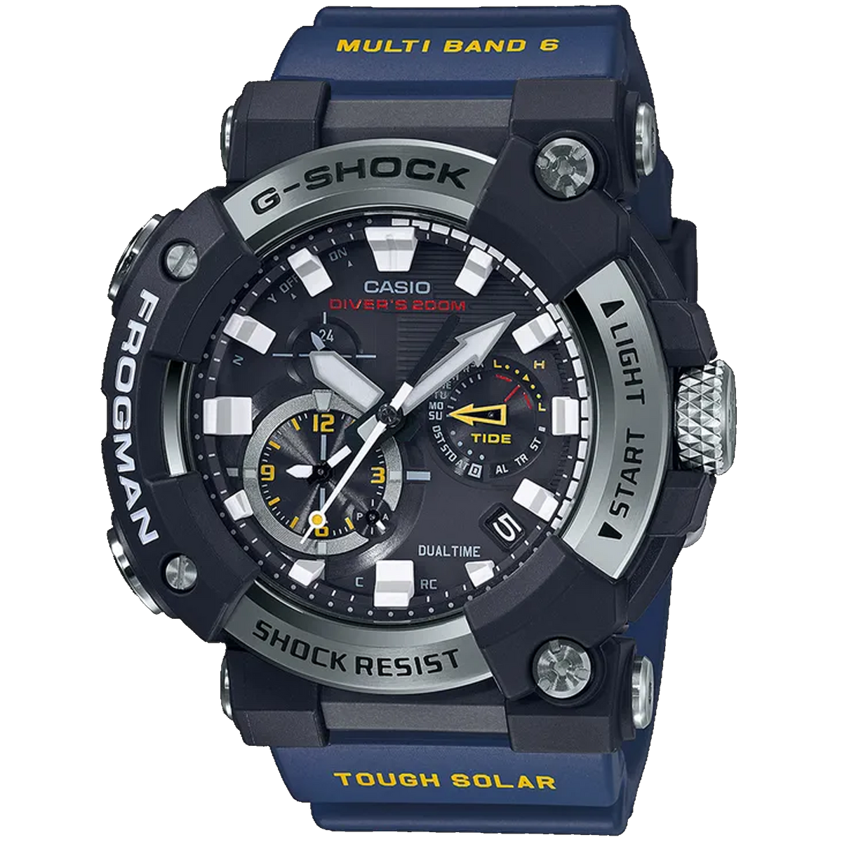 Casio G-Shock -  GWFA1000 Series - Carbon Monocoque Frogman Limited Edition