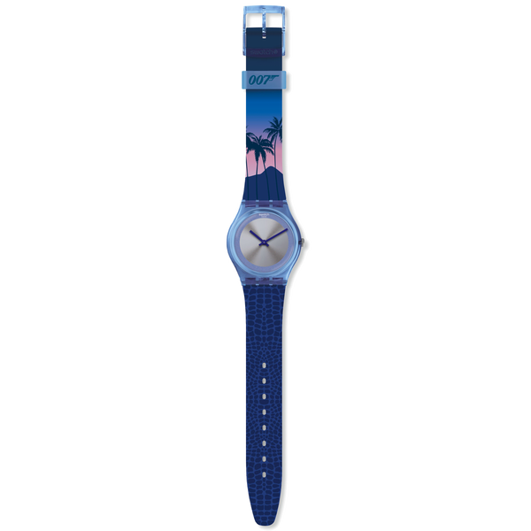 Swatch Watch - 007 Edition - Licence to Kill 1989