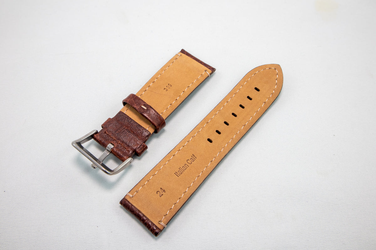 Alpine Watchstrap - Padded Stitched