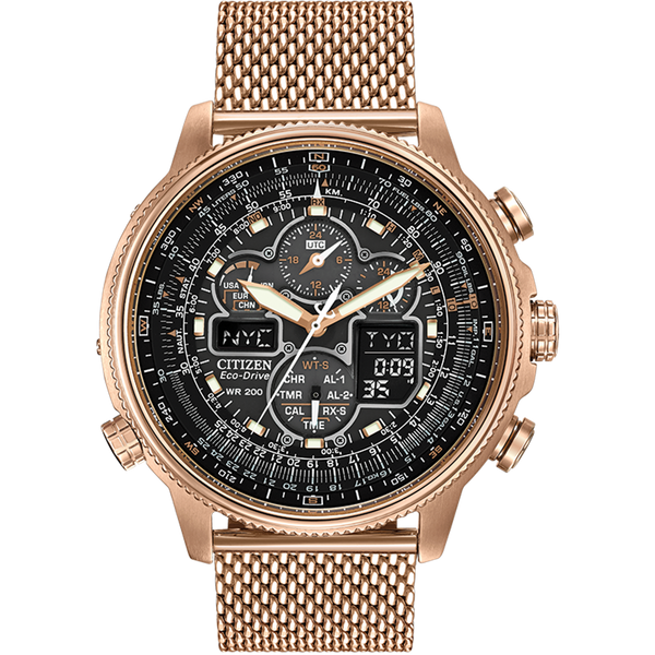 Citizen Eco-Drive - Skyhawk A-T Rose Gold Milanese
