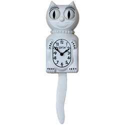 White Lady  Kit-Cat® Klock