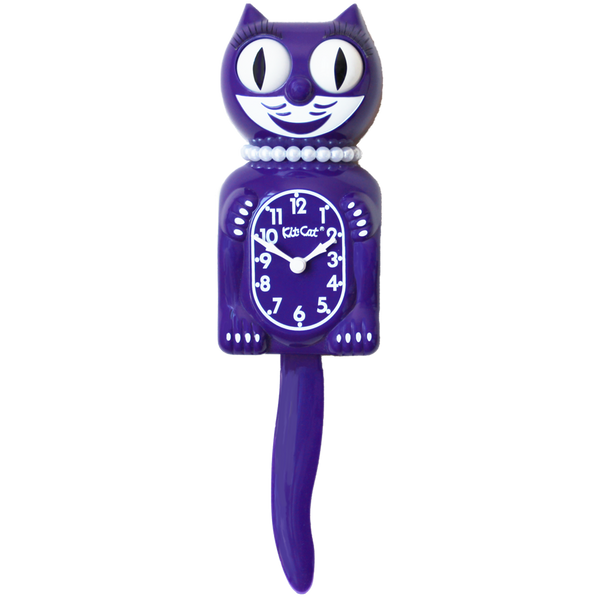 Ultra Violet Lady Kit-Cat® Klock