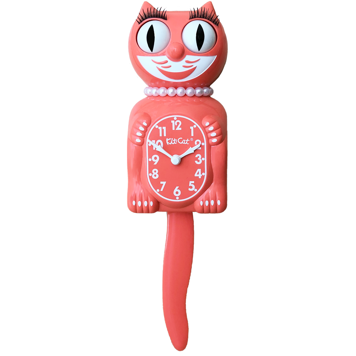 Living Coral Lady  Kit-Cat® Klock