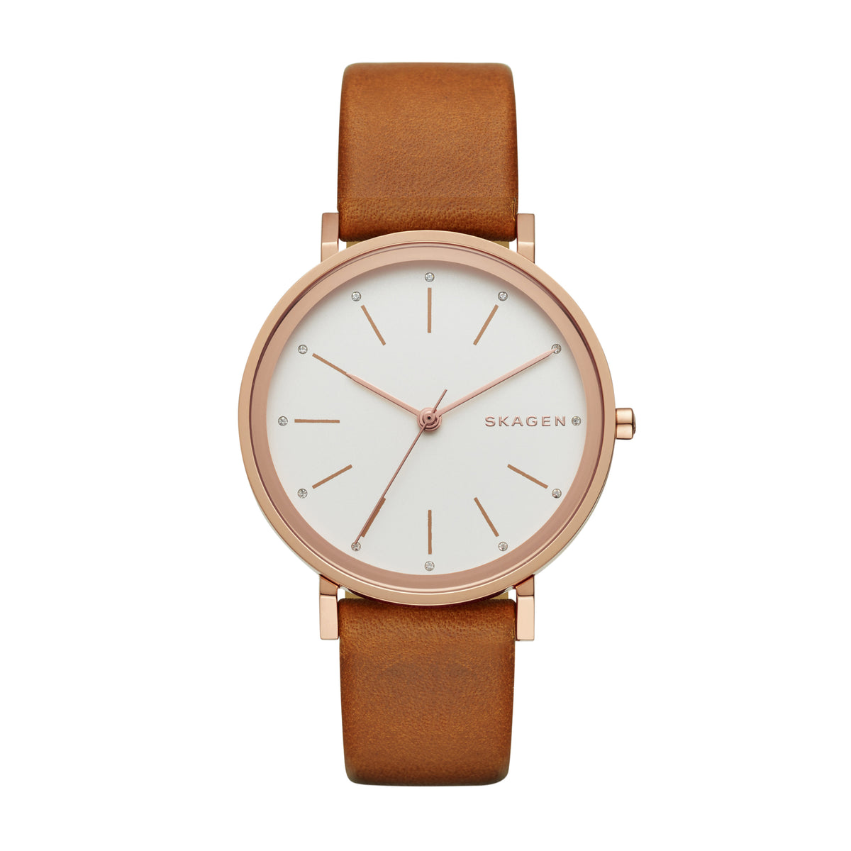 Skagen - Hald Brown Leather Watch