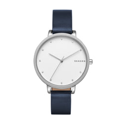 Skagen - Hagen Blue Leather Watch