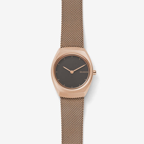 Skagen - Asta Rose Gold-Tone Steel-Mesh Watch