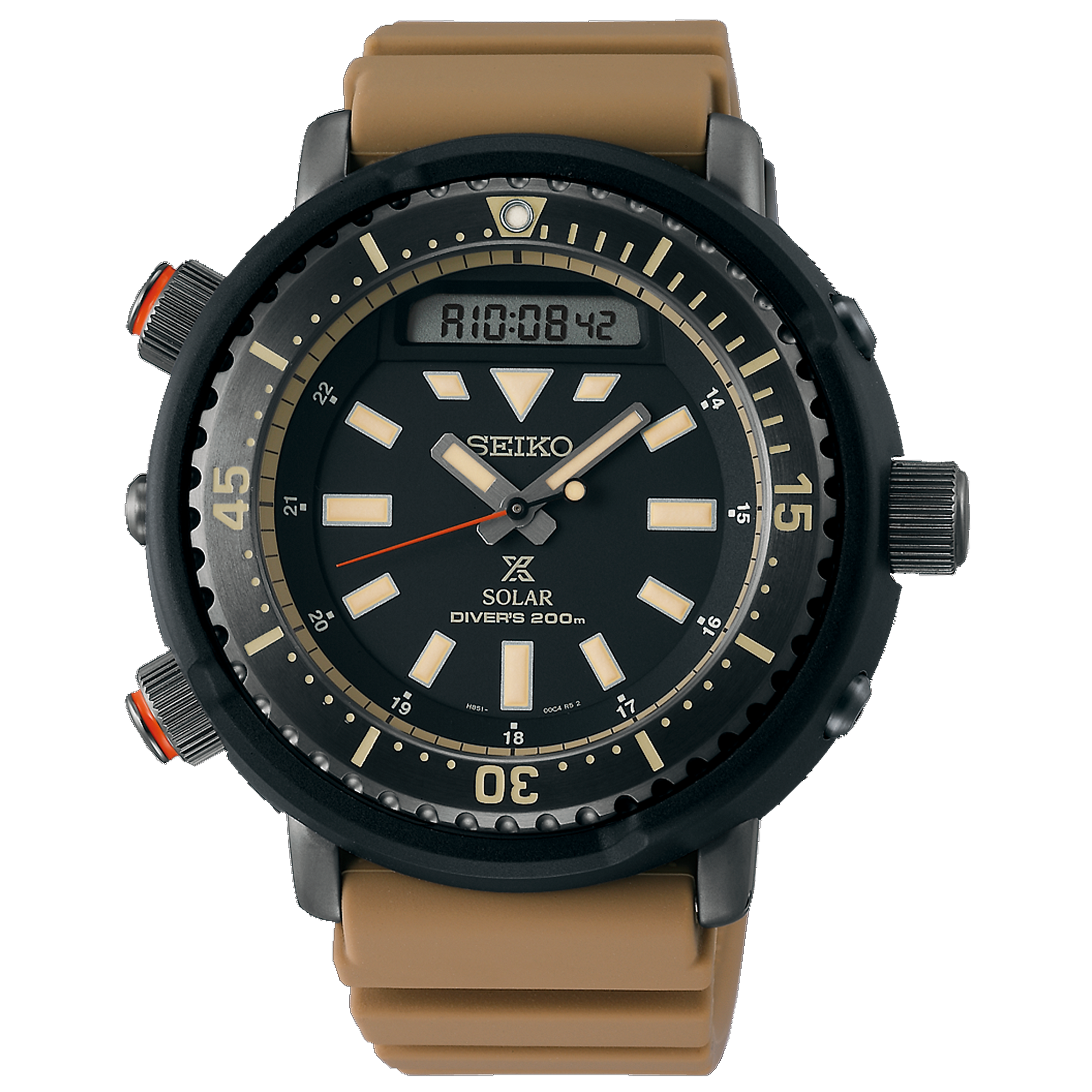 Seiko Prospex Solar Tuna Dive Watch Analog/Digital SNJ029
