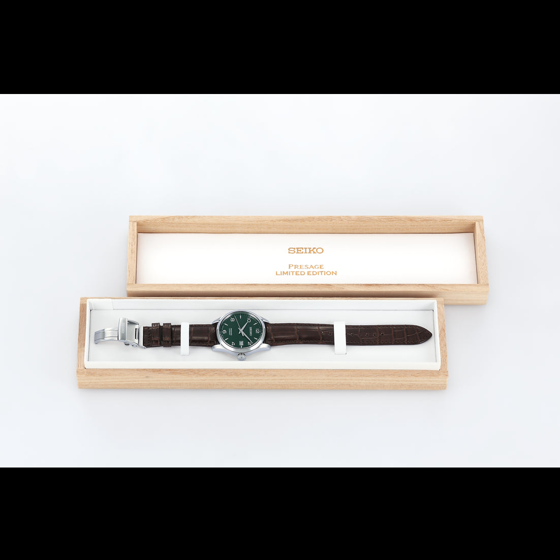 Seiko Presage Automatic -  Green Enamel Limited Edition