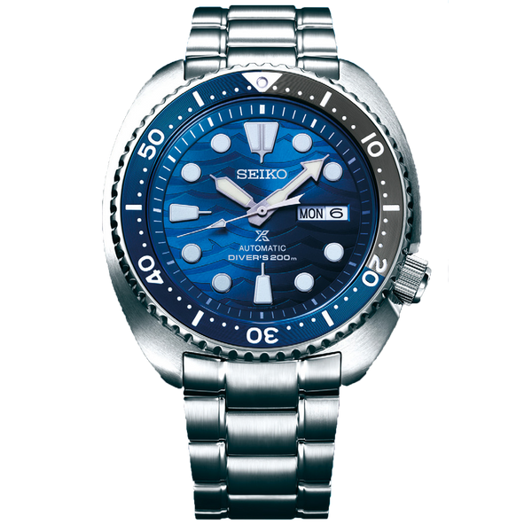 "Seiko PROSPEX ""Turtle"" - ""Save The Ocean"" Great White Shark Edition"