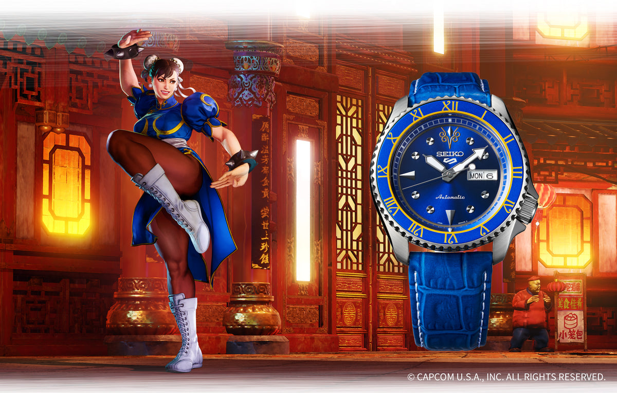 Seiko 5 Sport - Street Fighter Chun-Li Limited Edition SRPF17K1