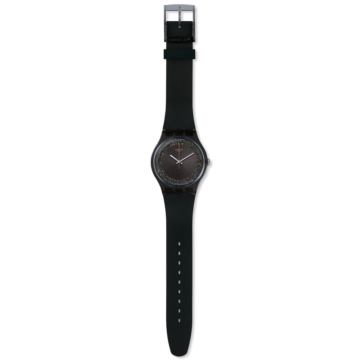 Swatch Watch 41mm - Dark Sparkles