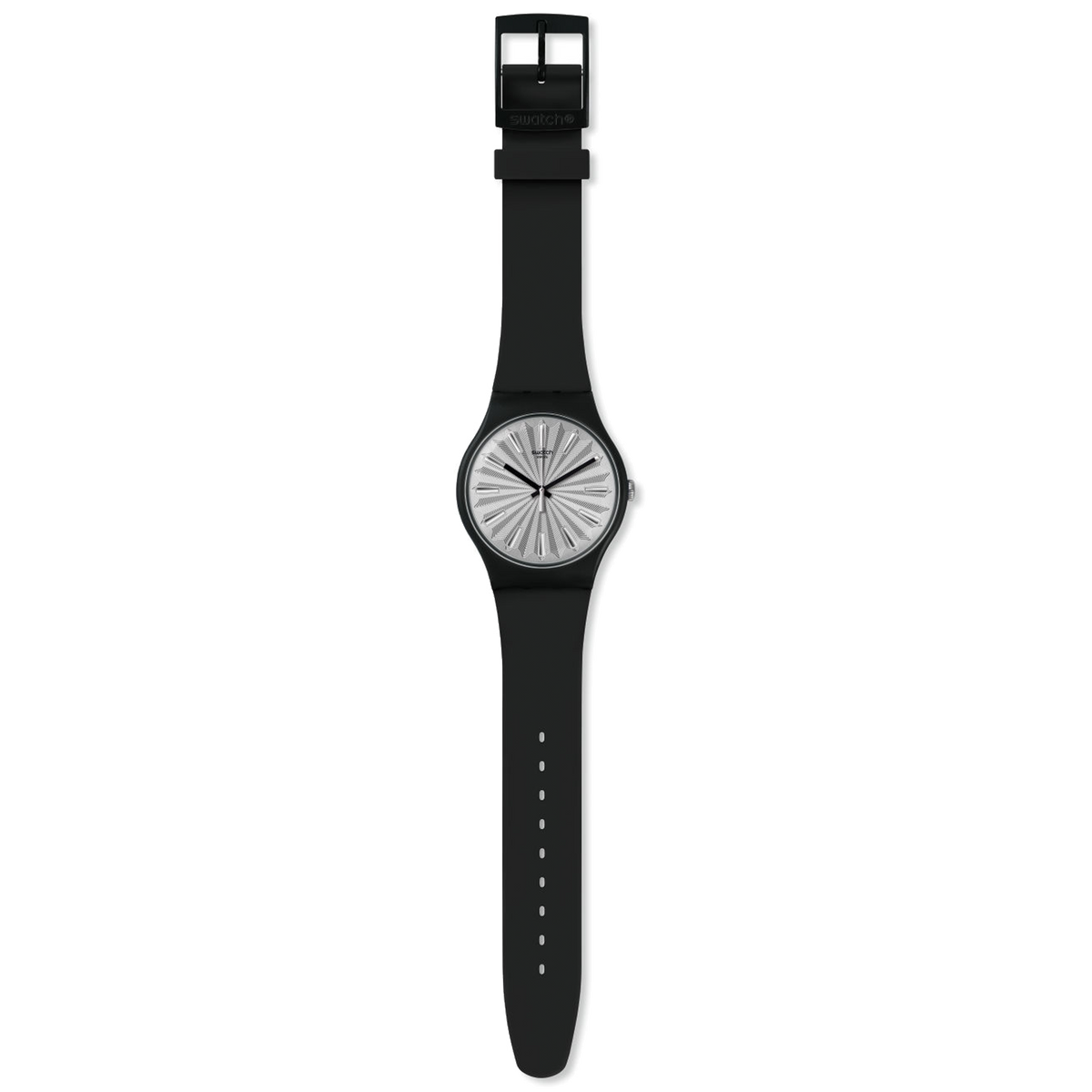 Swatch Watch 41mm - Silver Shield