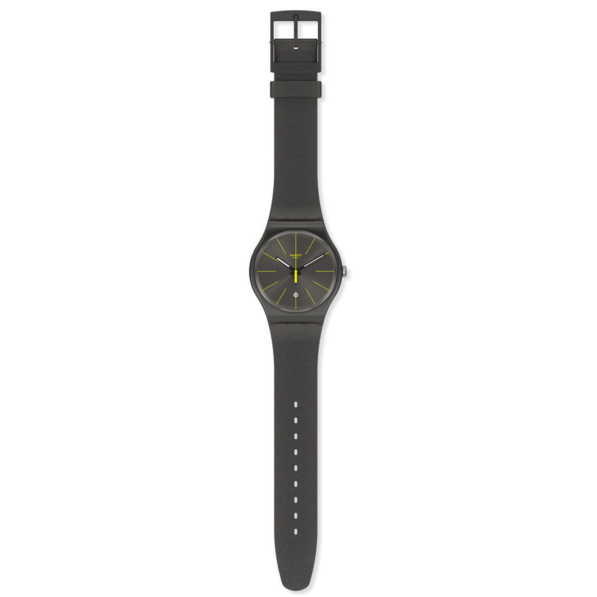 Swatch Watch 41mm - Charcolazing