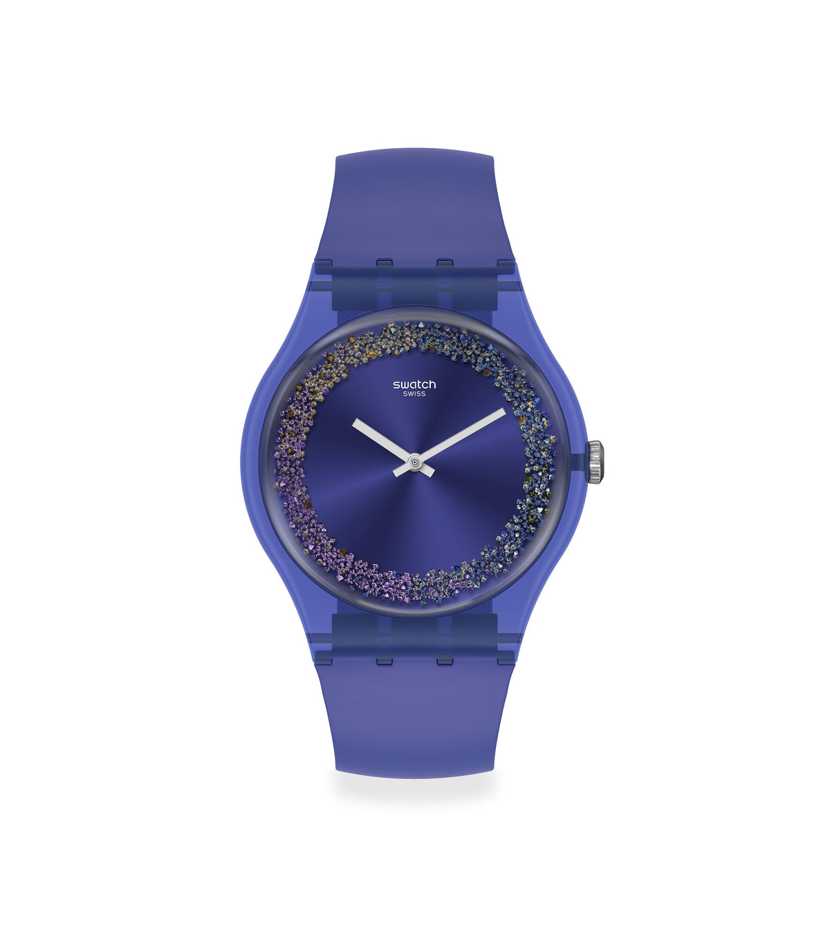 Swatch Watch 41mm - Purple Rings