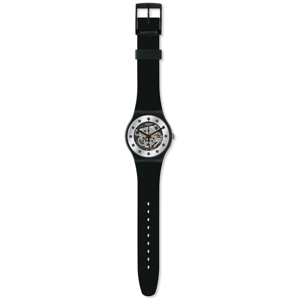 Swatch Watch - Silver Glam