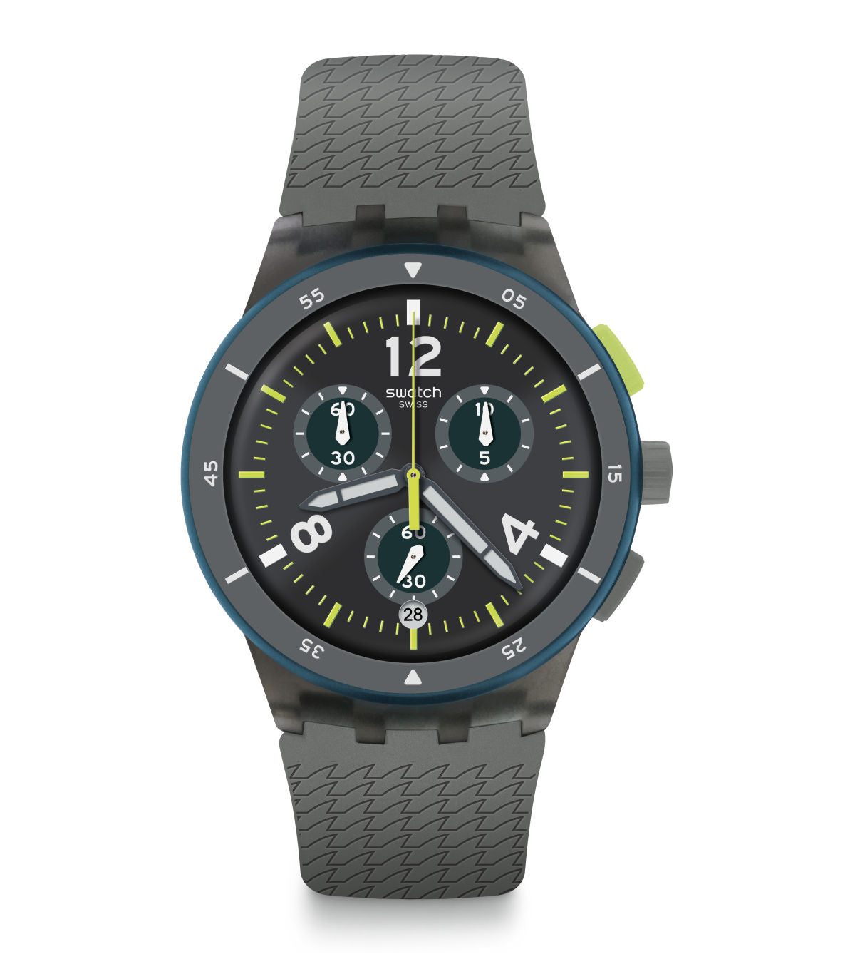 Swatch Watch 42mm Chrono: Sportire