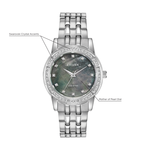 Citizen Eco-Drive - SILHOUETTE CRYSTAL