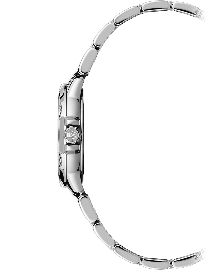 Raymond Weil Watch - TANGO Quartz Classic Diamond Date Watch, 30mm stainless steel, mother-of-pearl dial, 8 diamonds